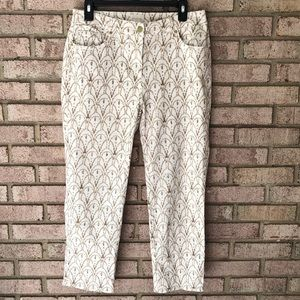Chico's Rhinestone Pants Jeans Size 0.5